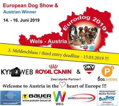 European Dog Show & Austrian Winner 2019