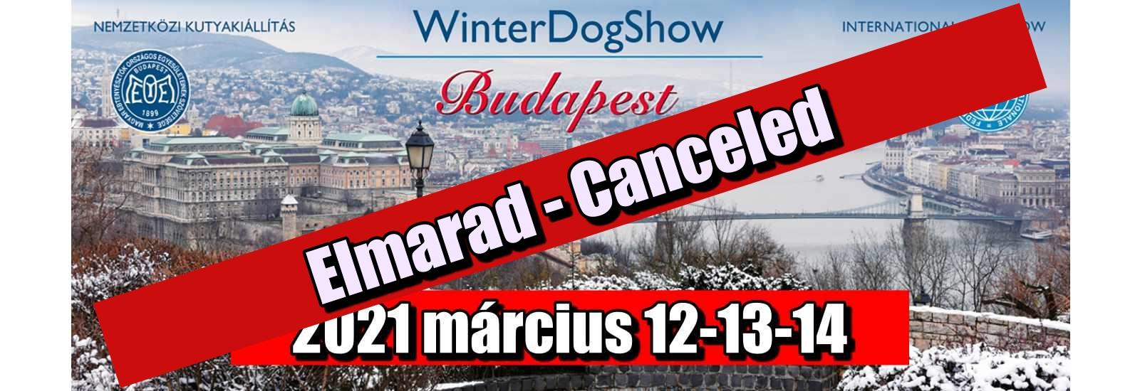 Winterdogshow Canceled